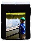 Fishin' Duvet Cover