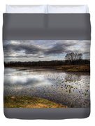 Fishing And Hunting Spot Duvet Cover