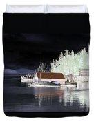 Fishing Boat Dock - Ketchican - Alaska - Photopower 01 Duvet Cover