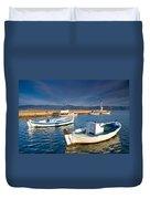 fishing boats 'XIII Duvet Cover