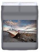 fishing boats 'XVI Duvet Cover