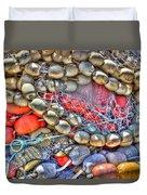 Fishing Bouys Duvet Cover