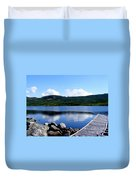 Fishing Day - Calm Waters - Digital Painting Duvet Cover