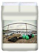 Fishing Gear Duvet Cover