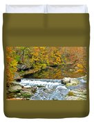 Fishing Is Relaxing Duvet Cover