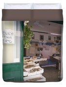 Fishing Shop Duvet Cover
