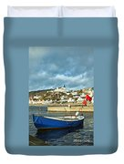 Fishing Village Of Molle In Sweden Duvet Cover