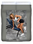 Fitness 30 Duvet Cover
