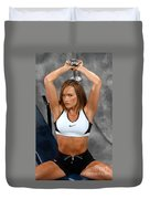Fitness36-2 Duvet Cover