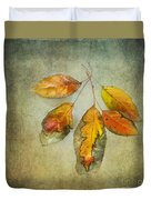 Five Autumn Leaves Duvet Cover
