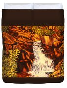 Five Mile Mountain Duvet Cover