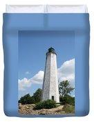 Five Mile Point Lighthouse Duvet Cover