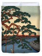 Five Pines Onagi Canal Duvet Cover