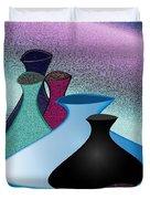 Five Vases Duvet Cover