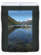Fjord To The Sky Duvet Cover
