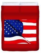 Flag Mirror Duvet Cover