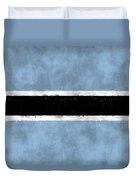 Flag Of Botswana Duvet Cover