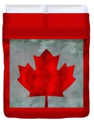 Flag Of Canada Duvet Cover