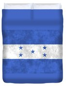 Flag Of Honduras Duvet Cover