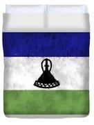 Flag Of Lesotho Duvet Cover