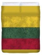 Flag Of Lithuania Duvet Cover