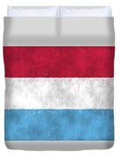 Flag Of Luxembourg Duvet Cover