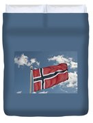 Flag Of Norway Duvet Cover