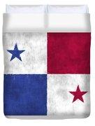 Flag Of Panama Duvet Cover
