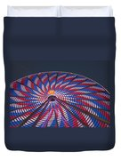 Flag Wheel Duvet Cover