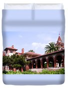 Flagler College Duvet Cover