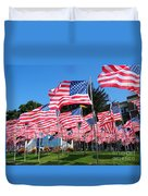 Flags Of Glory Duvet Cover