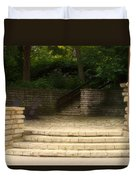 Flagstone Patio Duvet Cover