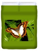 Flame Bordered Charaxes Butterfly Duvet Cover