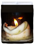 Flame Candle Art Duvet Cover