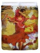 Flamenco 44 Duvet Cover