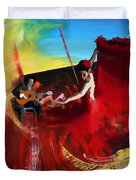 Flamenco Dancer 016 Duvet Cover