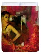 Flamenco Dancer 024 Duvet Cover