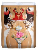 Flamenco Of Fertility  Duvet Cover