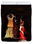 Flamenco Series #6 Duvet Cover