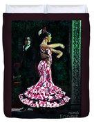 Flamenco Series No. 10 Duvet Cover