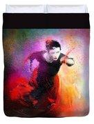 Flamencoscape 03 Duvet Cover
