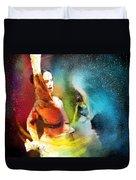 Flamencoscape 08 Duvet Cover
