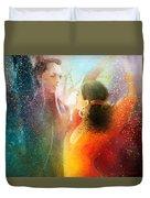 Flamencoscape 09 Duvet Cover