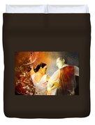 Flamencoscape 10 Duvet Cover