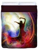 Flamencoscape 16 Duvet Cover