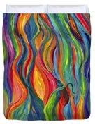 Flames Dancing Duvet Cover