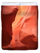 Flames In The Slot Duvet Cover