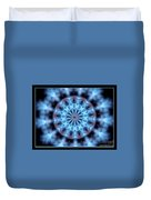 Flames Kaleidoscope 4 Duvet Cover