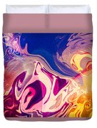 Flaming Colors Duvet Cover