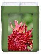 Flaming Petals Duvet Cover
